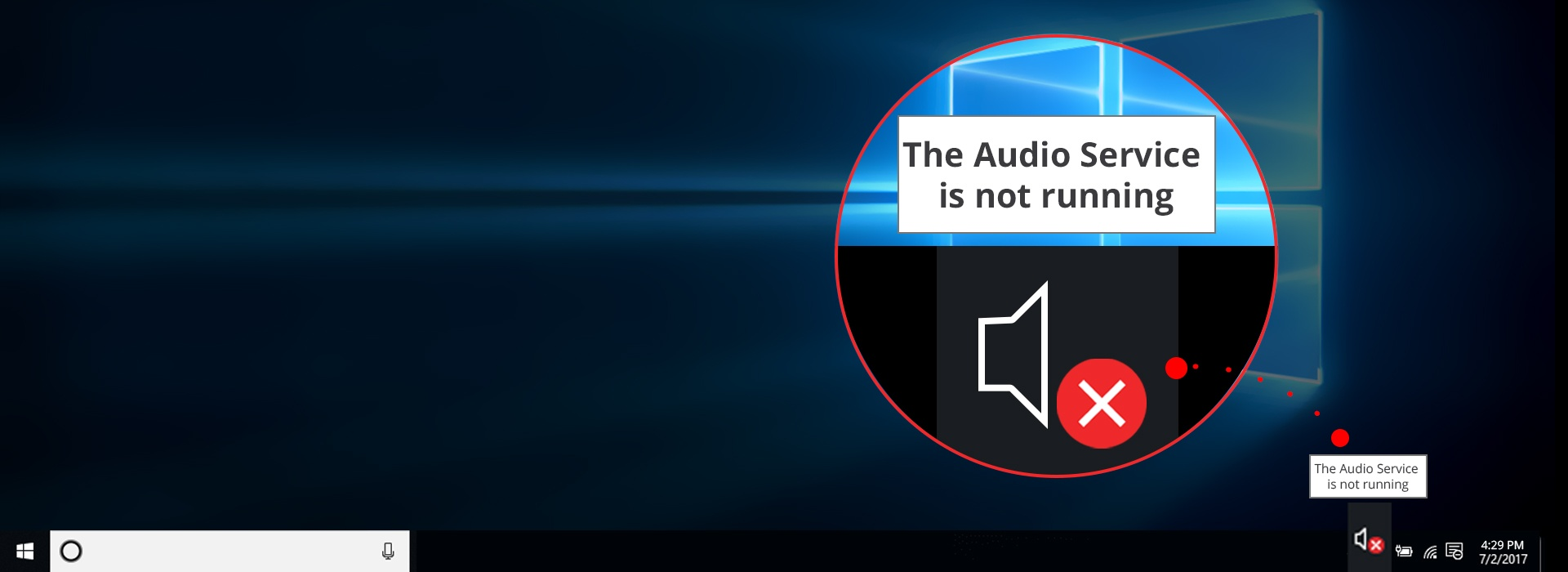 Fix the Audio Service is not running Windows 10 problem - the proven methods only - check our guide