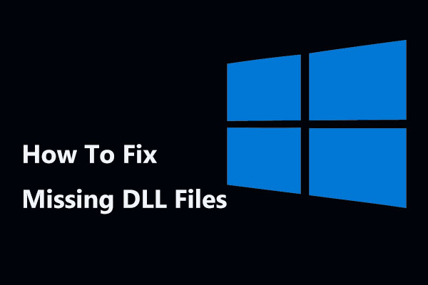 Method 4: Update drivers to restore missing .dll files