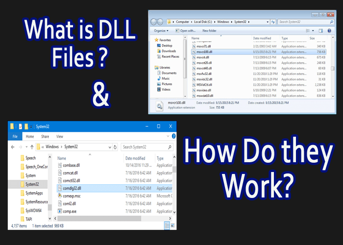 DLL Files Tutorial: What Are DLL Files, and Can I Download DLL Files From the Internet To Fix Windows Errors?