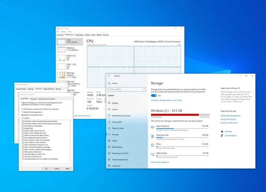 Tips and tricks to increase PC performance on Windows 10 - The best five solutions for your PC - All tricks on our site