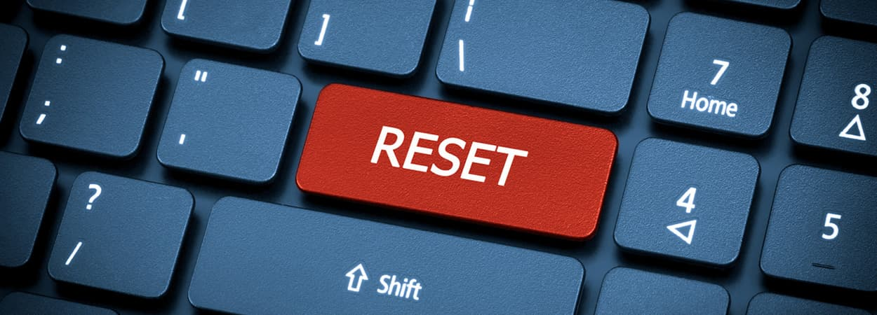 Factory reset an HP laptop - how to fix it correctly