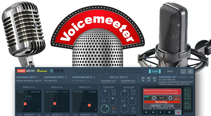 Voicemeeter Banana Lets you control your Windows PC's audio for streaming